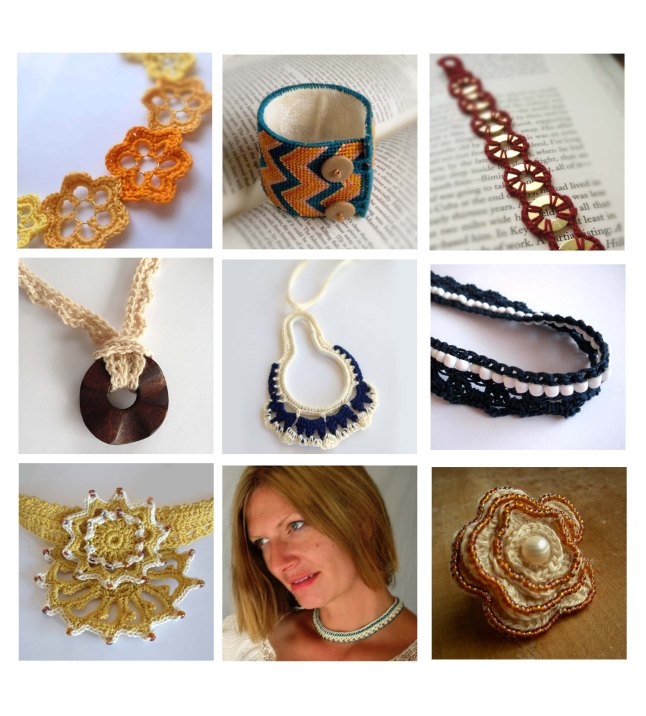 Crochet Jewelry by Kristy at Catalina Inspired