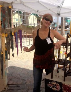 Me & My Ocean Side Booth at the Catalina Festival of Art