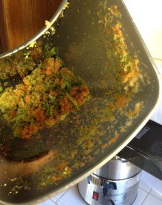 Juicer Pulp.  What's Left Over After Juicing