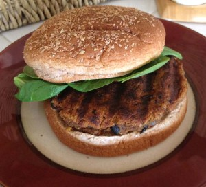 Easy Vegan Black Bean and Juicer Pulp Veggie Burger Recipe